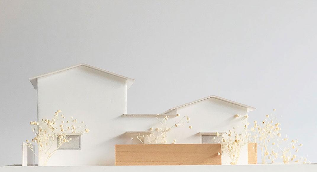 ONE×ONE広島モデルハウス 模型