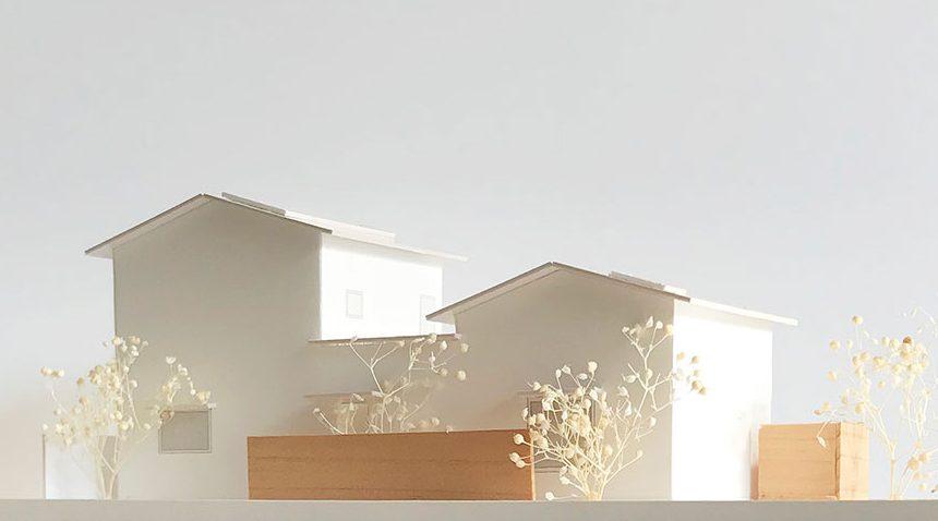 ONE×ONE 広島モデルハウス 模型